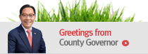 Greetings from County Governor - Go